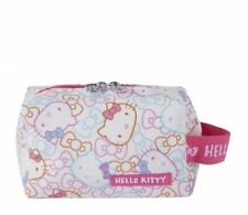 Hello Kitty Cosmetic Pouch: Color Ribbons Sanrio Japan