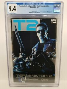 T2 TERMINATOR 2 TPB nn CGC 9.4 NM Judgment Day Marvel 1991 Arnold Schwarzenegger