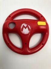 Nintendo Wii Hori Mario Kart 8 Steering Wheel Mario Red Racing 2014 Official D1