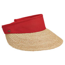 Visera de paja sombreros para De mujer  0103a8edb45f