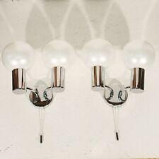 Motoko Ishii & Staff Leuchten - Paire d'appliques vintage chrome design 1960s