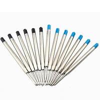 10pcs Blue Ink Parker Style Standard 0.7MM Ballpoint Pen Refills NIB Medi Sell