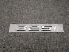 Chrome Trunk Number Letters Emblem Emblems Badge Badges Sticker for BMW 325i