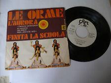 "LE ORME"" L'AURORA- disco 45 giri CAR Italy 1970"" RARO"