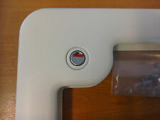 Caravan or Motorhome Thetford Toilet Door Lock White Plastic Lever Mechanism TT2