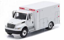 1/64 International 4400 Durastar Ambulance by Greenlight, Blank White 33041 NEW