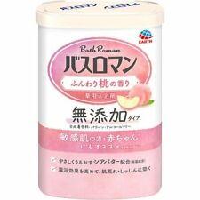 Earth BATH ROMAN Mutenka Additive-free Bath Salt 600g - Lightly Peach Scented