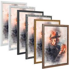 Bilderrahmen Eleganz Holz MDF Bild Foto Poster Rahmen Modern Große Auswahl