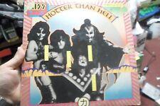 Kiss Hotter Than Hell 1974 LP Vinyl Record  Classic Rock 1970's ALBUM