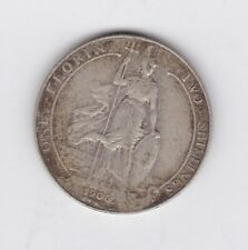 More details for 1906 edward vii silver florin in good fine condition