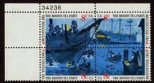 #1483a 8c Boston Tea Party, Plate Block, Mint **ANY 4=FREE SHIPPING**