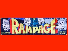 LARGE Rampage Arcade Video Game Banner Flag Poster FREE SHIPPING