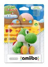 Green Yarn Yoshi Amiibo Woolly World Nintendo Wii U/3DS GamePad New Sealed