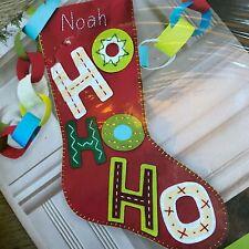 "QUICK 19""  ""Ho Ho Ho"" Christmas Stocking Kit Dimensions 72-08187"