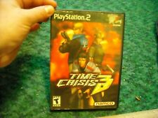 time crisis 3 playstation 2 (no manual)