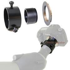 (L) Telescope Spotting Scope 37mm M42 Adapter for Nikon D40 D80 D2Xs D200 D50