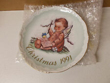 "Fitz & Floyd Petits Veds Canape Plate ""Christmas 1991"""