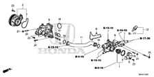 Genuine Honda O-Ring (31.2X4.1) (Nok) 91314-PH7-003