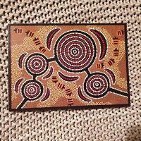 Going for Honey Ants - Indigenous Australian Art - 1991 Postcard