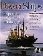 #286 PowerShips - Am Export Freighters, BRETAGNE/BRITTANY, SSHSA sHiPs WORLDWIDE