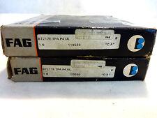 NEW IN BOX SET OF (2) FAG B7217E-TPA-P4-UL SUPER PRECISION BEARING