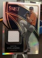 JUSTIN VERLANDER 2020 Panini Select Jersey Game-Worn Relic Patch Card /149