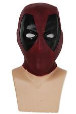 Deadpool Helmet Movie Cosplay Mask Full Head Latex Mask Costume Props Adult