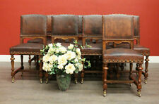 Leather Original Antique Chairs