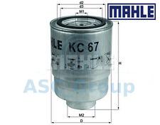 Original Mahle Austauschmotor anschraubbar Kraftstofffilter KC 67