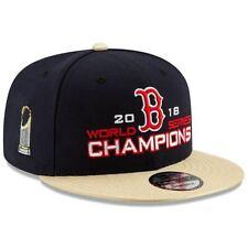 Boston Red Sox 2018 World Championship Snapback Hat NWT Golden FREE SHIPPING
