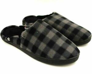 Isotoner Thinsulate Men Clog Slippers Size XL US 11-12 Grey Fleece