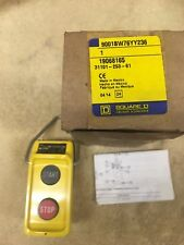SQUARE D STANDARD DUTY PENDANT CONTROL STATION 9001BW76YY236 19068165  NEW