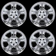 "03-07 FORESTER 16"" Chrome Wheel Skins Rim Covers 5 Spoke Hub Caps Steel Wheels"