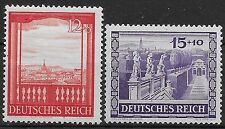 Germany Third Reich 1941 Mi# 804-805 MNH Vienna Fair & Hitler's Culture Fund * *