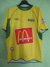 Maillot Beach Soccer Bresil Vintage Brasil FIFA Jersey Shirt Football shirt - L