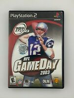 NFL Gameday 2003 - Playstation 2 PS2 Game - Complete & Tested