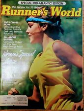 Runner's World Magazine 1982 July Miss Universe Nathan Pritikin Frank Shorter