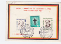 Germany 1959 Hanover  Industry Fair   special postmark stamps card R21096