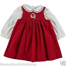 baby girl RALPH LAUREN SET Corduroy DRESS & LS BODYSUIT 3/6M (68cm) BNWT
