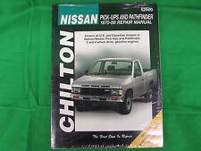 Nissan pick-ups and pathfinder trucks 1970-88 CHILTON Repair Manual (8585) 52500