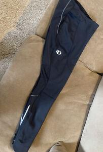 PEARL iZUMi Men's Pants Elite Softshell Tights Cycle Pants Black Sz XL