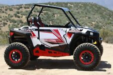 Pro Armor Rock Metal Flat Sliders RED 14-19 RZR XP1000 XP1K 900S P141221RD