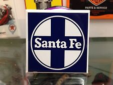 classic SANTA FE full backed refrigerator RAILROAD MAGNET
