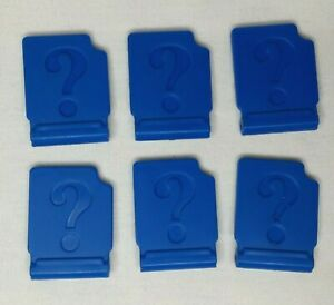 Electronic Guess Who Extra Replacement Parts Pieces Set of 6 Window Covers Flap