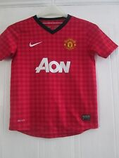 Manchester United 2012-2013 Home Football Shirt Childrens M 10-12 years /41099