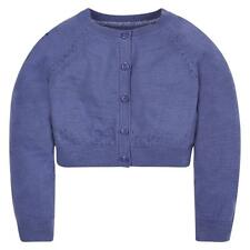 MOTHERCARE GIRLS PURPLE 100% COTTON LONG SLEEVED CARDIGAN 6 YEARS BNWT rrp £9