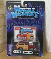 Muscle Machine '50 Ford Woody 1:64 scale maisto