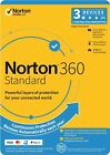 Norton 360 Standard 3 Devices 1 Year 1 User for PC Mac Android + (2 Months FREE)