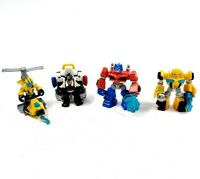 Lot of 4 Transformers Rescue Bots