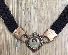 Molto Grazioso Antico Uhrkette Catenina Orologio Taschino Haarkette Catena per